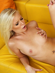 Sexy blonde babe gets fucked by her friends brother.